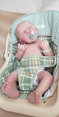 Full body solid silicone baby doll Back on ebay