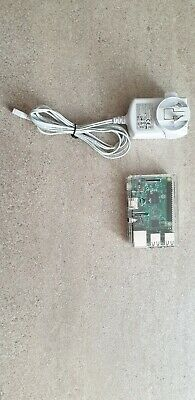 Raspberry Pi 3 B w/ Clear Case and Power Supply