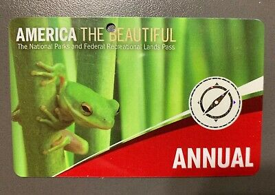 Annual National Parks Pass (Expires the End of Oct. 2019)