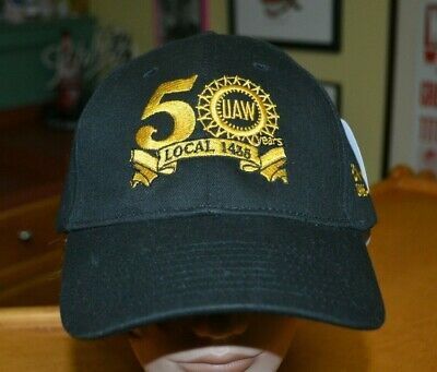 UAW United Auto Workers Union Local 1435 50 Years Retiree Hat Cap New Machining