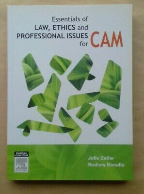 Essentials of Law, Ethics, and Professional Issues for CAM by Zetler & Bonello