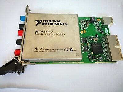 National Instruments NI PXI-4022 Amplifier Module,100% tested