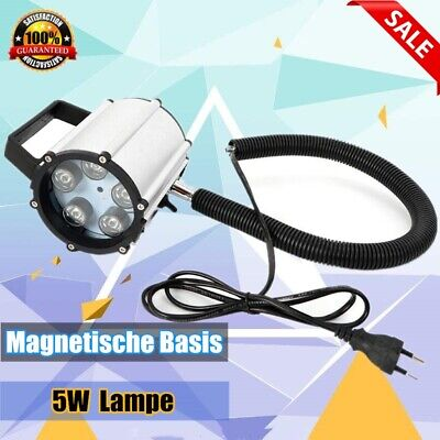 5W 110-220V 500mm CNC Machine LED Lamp Magnetic Base Aluminum Alloy Working New