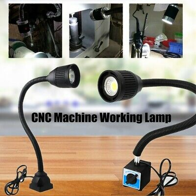 5W 500mm Flexible CNC Machine Working Lamp Light LED Magnetic / Fixed Base Tool