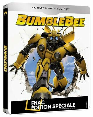 Bumblebee Steelbook 4K Ultra Hd Edition Fnac  Blu Ray  Neuf Sous Blister