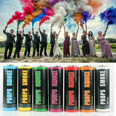 7colour Smoke Colorful Round Bom Effect Show Background Photography Pull Ring UK