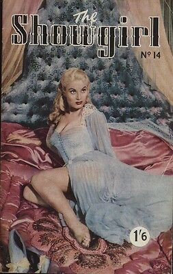 Rare vintage UK pocket size magazine from the 50s or 60s: The Showgirl No. 14