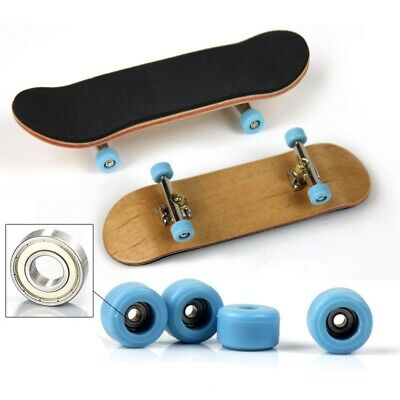 Boys Complete Wooden Fingerboard Finger Skate Board Children Birthday Toy Gift