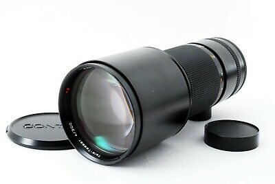 NEAR MINT Contax Carl Zeiss Tele-Tessar T* 300mm f4 MMG for C/Y From JAPAN