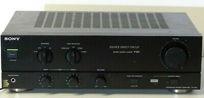 Vintage Sony Integrated Stereo Amp, phono input made in Japan