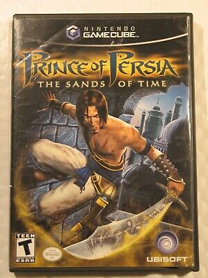 Nintendo Gamecube   Prince of Persia  The Sands of Time