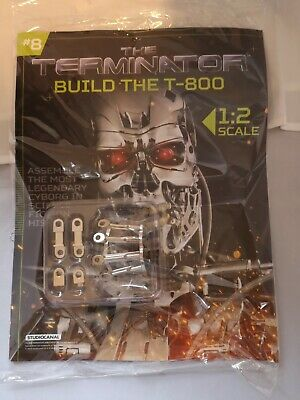 Build The Terminator | 1:2 Scale | Build Your Own Terminator | T-800 Issue 8