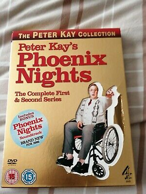 Peter Kay - Phoenix Nights  - Complete 1st and 2nd Series plus Soundtrack CD