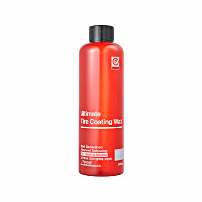 Fireball Ultimate Tire Coating Wax 500ml (Red) with trigger & Tire Applicator