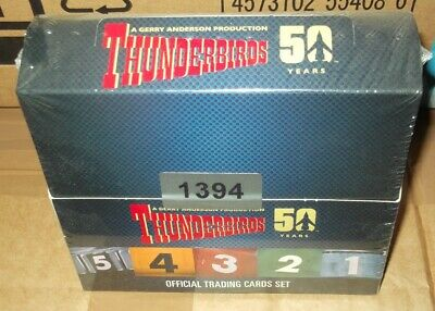Unstoppable cards THUNDERBIRDS 50 Years volume 1 OFFICIAL TRADING CARD BOX