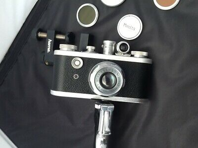 Corfield Periflex 1 ..with SUPER ROKKOR Chiyoko 2.8 lens ( Leica )...