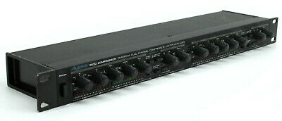 Alesis 3630 RMS/PEAK 2-Channel Compressor / Limiter with Gate - NO PSU #5785
