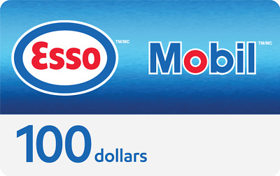 $100 Esso and Mobil Gift Card for $99 + Bonus $10 Fuel Savings Card Free!
