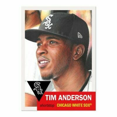2019 Topps Living Set 213 Tim Anderson Chicago White Sox (Pre-Sale)