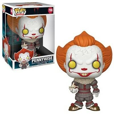 """Funko Pop! Movies   IT Chapter 2   Pennywise w/Boat Super Size 10"""" Ships 8/1"""