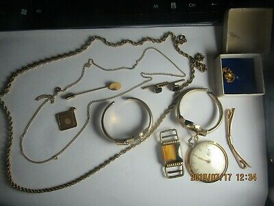 junk drawer lot Jewelry gold filled  # 2