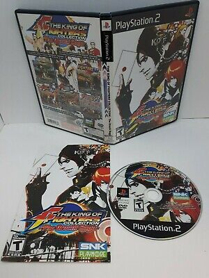 King of Fighters Collection: The Orochi Saga (PS2, 2008) Complete NTSC