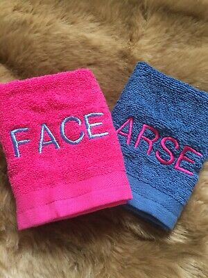 Personalised Embroidered Aristocats Marie Face Cloth Towel Flannel Xmas Gift