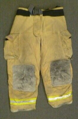 46x30 Globe Gxtreme Firefighter Pants Turnout Bunker Fire Gear w/ Liner P101