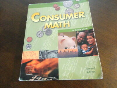 Bob Jones University Press Consumer Math -  2nd Edition - 2005 BJU