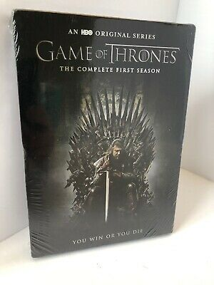 Game of Thrones: The Complete First 1st Season (DVD, 2015, 5-Disc Set) NEW (016)