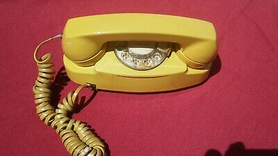Western Electric Bell System Princess Rotary Phone 702B Yellow