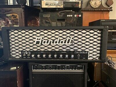 RANDALL RGT100 HT Tube Amp Rack Head HARD TO FIND - $900 00 | PicClick