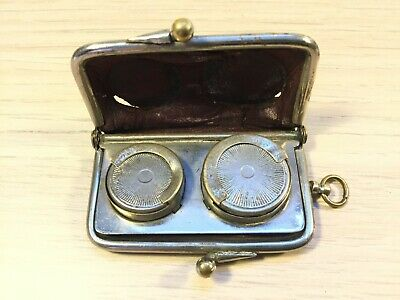 Antique Sovereign and Half Sovereign Coin Purse Holder.                 ( MJ671)
