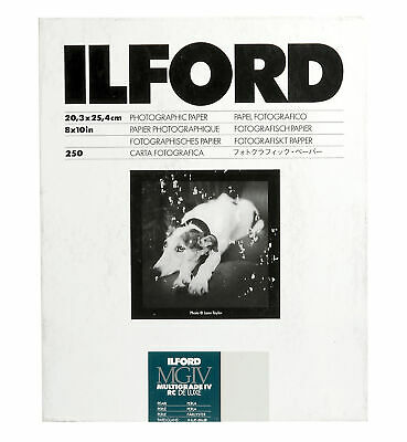 Ilford Multigrade IV RC Deluxe B&W VC Paper (8 x 10in, Pearl, 250 Sheets)