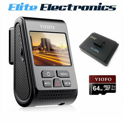 VIOFO A119 V3 64GB Quad HD 2560x1600P 30FPS GPS Dash Camera