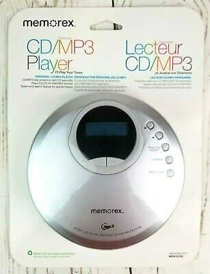 Memorex Personal CD/MP3 Player Compact Disc Portable MD8151SL New Factory Sealed