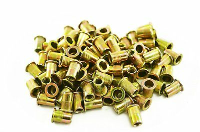 "Astro Pneumatic RN14 1/4""-20 Steel Rivet Nuts (100 Piece)"