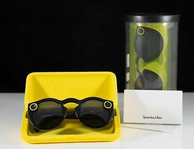 Brand New Spectacles Snap Smart Phone Camera Glasses for Snapchat Black