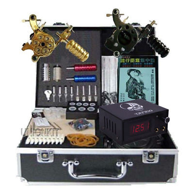 nuevo Completo tattooing machine tatuar kit more tattoo equipment set