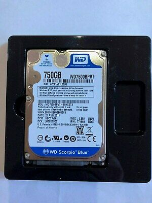 "750Gb Western Digital WD7500BPVT 2.5"" WD Blue internal SATA laptop Hard Drive"