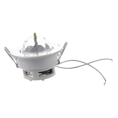 LED RGB Ceiling Stage Light 3W Full Color Automatic Voice-activated Rotatin J7I5