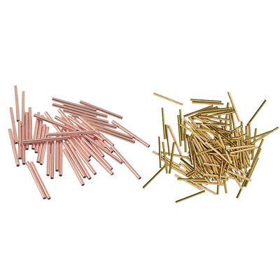 environ 1.52 m 14k Rose Gold Filled Gauge 24 ronde demi dur Beading Wrapping Wire W 24 hhrg 5 ft