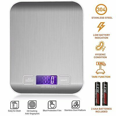 01g-10kg Electronic Pocket Digital LCD Weighing Scales Kitchen Food Jewellery UK