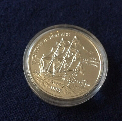 $25 DOLLAR PALLADIUM 1987 BERMUDA SEA VENTURE 1 OZ COIN .999 Fine