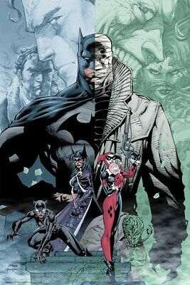 Mondo DC Batman Hush Jim Lee 24x36 2019 SDCC COMIC CON Exclusive LE 275 IN HAND!