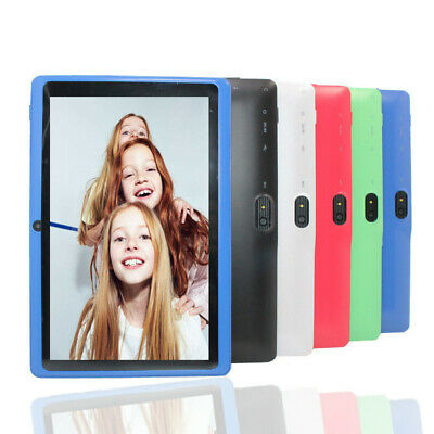 "Children's Tablet Android 7"" 4GB Quad Core 4.4 Dual Camera Bluetooth Wifi Tablet"