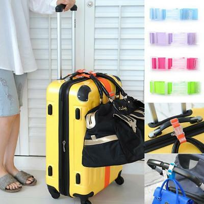 Luggage Hang Buckle Travel Suitcase Hanging Belt Anti-lost Clip Strap WT