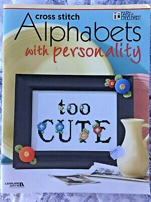 Mary Englebreit: Cross Stitch Alphabets with Personality