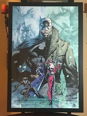 SDCC COMIC CON Mondo DC Batman Hush Jim Lee 24 x 36 2019 Exclusive LE 275 Poster