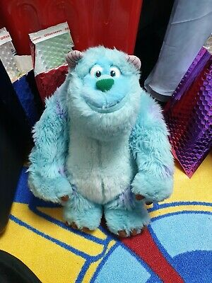 Vgc Genuine Disney theme parks SULLEY plush toy From Monsters inc